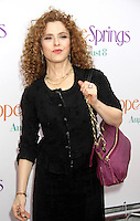 NEW YORK, NY - AUGUST 6, 2012: Bernadette Peters at the 'Hope Springs' premiere at the SVA Theater on August 6, 2012 in New York City. &copy;&nbsp;RW/MediaPunch Inc. /NortePhoto.com<br />