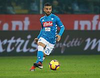 \Lorenzo Insigne of Napoli  during  Genoa -   Napoli Stadio Luigi Ferraris, Genoa, Italy; Serie A football 10th November 2018