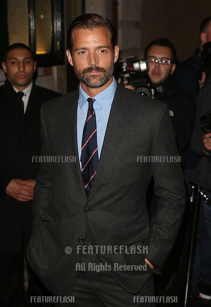 Patrick Grant arriving for London Fashion Week SS14  - Vogue dinner held at Balthazar, London. 15/09/2013 Picture by: Henry Harris / Featureflash