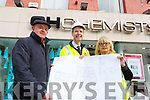 Peter and Claire Harty of CH Chemist with Ned O'Shea as they unveil the plans for CH Chemist in the mall on Tuesday Morning.