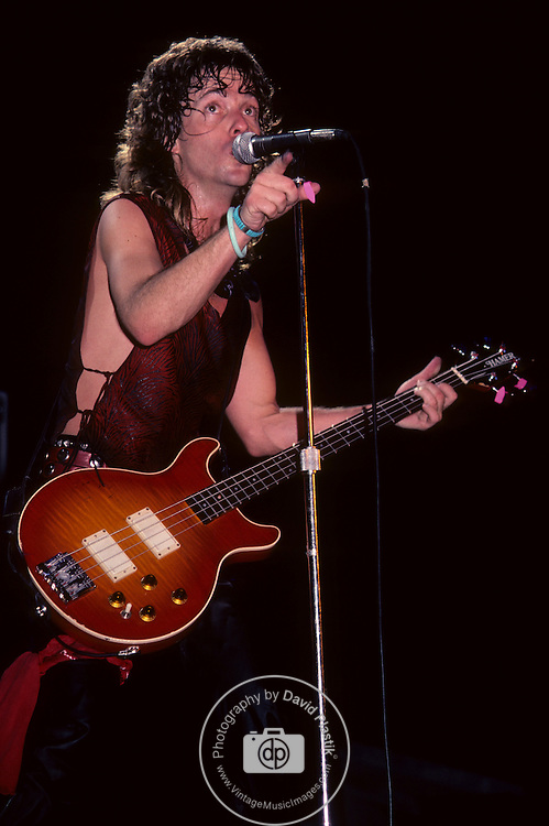 NIGHT RANGER Night Ranger in the U.S in 1984