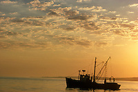 Trawler at sunrise, Menemsha, marthas Vineyard, MA
