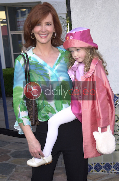 JANINE TURNER and DAUGHTER JULIETTE