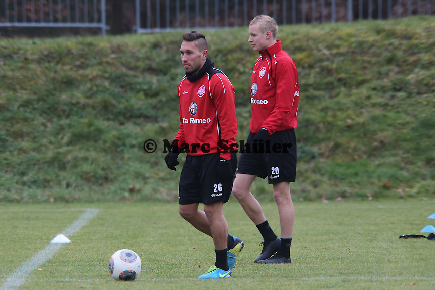 Tobias Weis und Sebastian Rode (Eintracht)