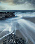 Beach near Na Buirgh, Harris, Outer Hebrides, Scotland, UK