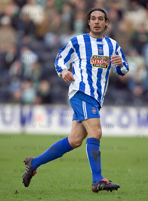 Danny Invincibile, Kilmarnock.stock season 2004-2005.pic willie vass