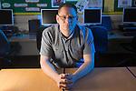 Adult Learner Paul Sharman<br /> <br /> 05.06.14<br /> &copy;Steve Pope-FOTOWALES