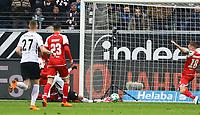 Luka Jovic (Eintracht Frankfurt) erzieltr das 2:0 - 17.03.2018: Eintracht Frankfurt vs. 1. FSV Mainz 05, Commerzbank Arena