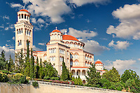 Agios Nektarios Monastery in Aegina island, Greece