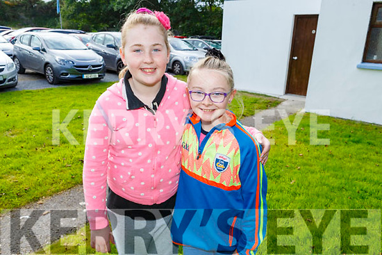 Karen O'Connor and Sarah Lenihan at the Ballyheigue Pattern Day Mass on Sunday