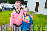 Karen O'Connor and Sarah Lenihan at the Ballyheigue Pattern Day Mass on Sunday
