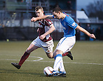 Lee Wallace rattles the post