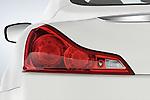Tail light close up detail view of a 2008 Infiniti G37S Coupe