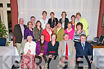 Retiremenr Party: Pat Culhane, second from right front, celebrating his retirment from the Department of Social Welfare, Listowel after 41 yeras service, at the Listowel Arms Hotel on Friday night last. Front: Mary Rossiter, Carmel Cronin, Maureen & Pat Culhane & Pat Griffin...Second row: Pat Keohane, Mary O'Connell, Anne Keeling, Mary Ashe, Catherine Sheehy, Patricia O'Connor & Norma Neary.. Back: Michael Holly, Kay Hudson, Siobhan Dineen, Veronica Corridan, Helen O'Sullivan & Brenda Lavery.