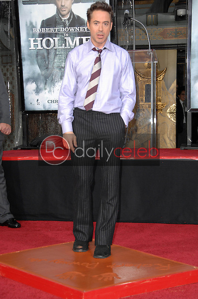 Robert Downey Jr.<br />