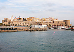 The old walled fortress Melilla la Vieja, Melilla, Spanish territory in north Africa, Spain
