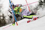 2nd February 2019, Maribor, Slovenia;  Christina Geiger of Germany in action during the Audi FIS Alpine Ski World Cup Women's Slalom Golden Fox on February 2, 2019 in Maribor, Slovenia