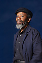 Keorapetse Kgositile ,South African Poet Laureate  at The Edinburgh International  Book Festival 2010 .CREDIT Geraint Lewis