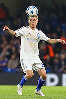 Vitaliy Buyalskiy of Dynamo Kyiv during the UEFA Champions League Group match between Chelsea and Dynamo Kyiv at Stamford Bridge, London, England on 4 November 2015. Photo by David Horn.