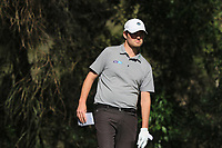 Cormac Sharvin (NIR) on the 7th tee during Round 1 of the Challenge Tour Grand Final 2019 at Club de Golf Alcanada, Port d'Alcúdia, Mallorca, Spain on Thursday 7th November 2019.<br /> Picture:  Thos Caffrey / Golffile<br /> <br /> All photo usage must carry mandatory copyright credit (© Golffile | Thos Caffrey)