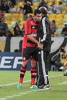 RIO DEJANEIRO, RJ, 25.09.2013 -  André Santos do Flamengo comemora seu gol durante partida contra o Botafogo pelas quartas de final da Copa do Brasil no Estádio do Maracanã nesta quarta-feira. (Foto. Néstor J. Beremblum / Brazil Photo Press).