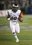 Colorado State's Dee Hart (10) runs against Nevada during the first half of an NCAA college football game in Reno, Nev., on Saturday, Oct. 11, 2014. Colorado State won 31-24. (AP Photo/Cathleen Allison)