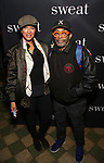 "Tonya Lewis Lee and Spike Lee attend the Broadway Production of  ""Sweat"" at studio 54 Theatre on March 26, 2017 in New York City"
