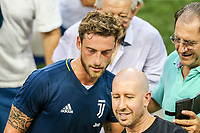 HARRISON, EUA, 21.07.2017 - BARCELONA-JUVENTUS - Claudio Marchisio 	 da Juventus durante treino um dia antes da partida contra o Barcelona pela International Champions Cup na Red Bull Arena na cidade de Harrison nos Estados Unidos nesta sexta-feira, 21. (Foto: William Volcov/Brazil Photo Press)