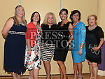 Joanne Byrne, Jenny McElroy, Eleanor Kelly, Sinead Nethaway, Siobhan Costello and Rose Bennett pictured at the Team Carrie end of season dinner in the Grove Hotel Dunleer. Photo:Colin Bell/pressphotos.ie