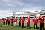 04 June 2011: Members of the National Soccer Hall of Fame were honored on the field before the game. The Spain Men's National Team defeated the United States Men's National Team 4-0 at Gillette Stadium in Foxborough, Massachusetts in an international friendly soccer match.