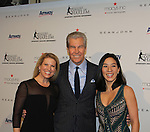 Tina & Terry Lundgren & Michelle Kwan - The 11th Annual Skating with the Stars Gala - a benefit gala for Figure Skating in Harlem on April 11, 2016 on Park Avenue in New York City, New York with many Olympic Skaters and Celebrities. (Photo by Sue Coflin/Max Photos)