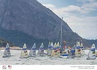 Finn start, postponed<br /> <br /> 2016 Olympic Games <br /> Rio de Janeiro