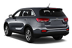 Car pictures of rear three quarter view of 2020 KIA Sorento S-V6 5 Door SUV Angular Rear
