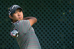 Pavit Tangkamolprasert of Thailand tees off during the 58th UBS Hong Kong Golf Open as part of the European Tour on 09 December 2016, at the Hong Kong Golf Club, Fanling, Hong Kong, China. Photo by Marcio Rodrigo Machado / Power Sport Images