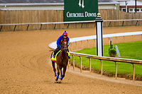 LOUISVILLE,KNY - MAY 04:  Irish War Cry, Morning works  at Churchill Downs, Louisville, Kentucky. (Photo by Sue Kawczynski/Eclipse Sportswire/Getty Images)