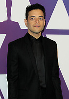 04 February 2019 - Los Angeles, California - Rami Malek. 91st Oscars Nominees Luncheon held at the Beverly Hilton in Beverly Hills. <br /> CAP/ADM<br /> &copy;ADM/Capital Pictures