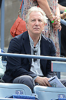 FLUSHING NY- SEPTEMBER 3: Alan Rickman is sighted watching Serena Williams Vs Andrea Hlavackova match on Arthur Ashe stadium at the USTA Billie Jean King National Tennis Center on September 3, 2012 in in Flushing Queens. Credit: mpi04/MediaPunch Inc. ***NO NY NEWSPAPERS*** /NortePhoto.com<br /> <br /> **CREDITO*OBLIGATORIO** <br /> *No*Venta*A*Terceros*<br /> *No*Sale*So*third*<br /> *** No*Se*Permite*Hacer*Archivo**<br /> *No*Sale*So*third*