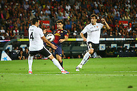 02.09.2012 SPAIN -  La Liga 12/13 Matchday 3th  match played between F.C. Barcelona vs Valencia C.F. (1-0) at Nou Camp stadium. The picture show Cesc Fabregas Soler (Spanish midfielder of Barcelona)