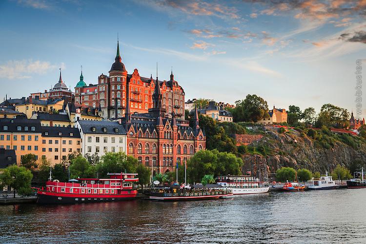 Mariaberget med Söder Mälarstrand i Stockholm