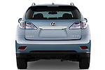 Straight rear view of a 2010 Lexus RX 450h