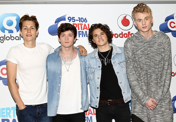The Vamps at Capital&Otilde;s Summertime Ball with Vodafone at Wembley Stadium, London on June 11th 2016<br /> CAP/ROS<br /> &copy;Steve Ross/Capital Pictures<br /> The Vamps at Capital&rsquo;s Summertime Ball with Vodafone at Wembley Stadium, London on June 11th 2016<br /> CAP/ROS<br /> &copy;Steve Ross/Capital Pictures /MediaPunch ***NORTH AND SOUTH AMERIcAS ONLY***