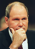 """Michael Eisner, Chairman, The Walt Disney Company, testifies before the United States Congress' Joint Economic Committee on """"Removing Barriers to the New Economy"""" in Washington, DC on June 7, 2000.<br /> Credit: Ron Sachs / CNP"""