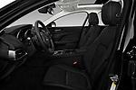 Front seat view of a 2018 Jaguar XE Prestige 4 Door Sedan front seat car photos