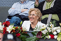 Manuela Carmena, Major of Madrid, during the ATP final of Mutua Madrid Open Tennis 2017 at Caja Magica in Madrid, May 14, 2017. Spain. /NortePhoto.com