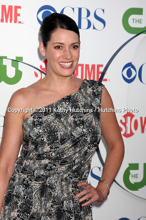 LOS ANGELES - AUG 3:  Paget Brewster arriving at the CBS TCA Summer 2011 All Star Party at Robinson May Parking Garage on August 3, 2011 in Beverly Hills, CA