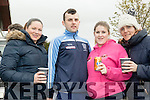 Fast Corner<br /> ----------------<br /> Taking a break from all the action at the rally of the Lakes last Sunday in Killarney at the service halt were L-R Caoimhe Molyneaux, Niall Lenin, Shona O'Sullivan and Mary Brennan all Ballymac, Tralee