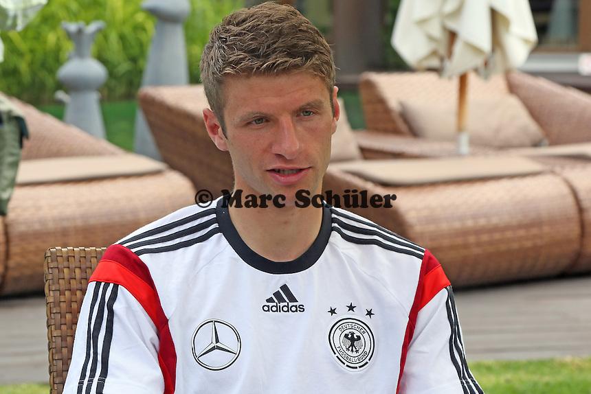 Thomas Müller - Media Day der Deutschen Nationalmannschaft zur WM-Vorbereitung in St. Martin