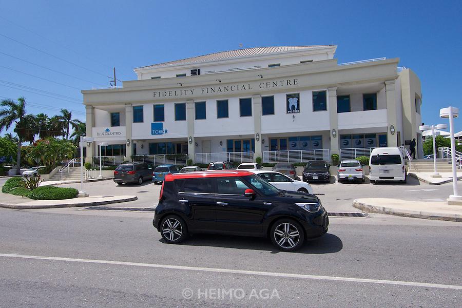 Grand Cayman. Fidelity Financial Centre.