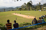 People watching cricket match, Haputale, Badulla District, Uva Province, Sri Lanka, Asia