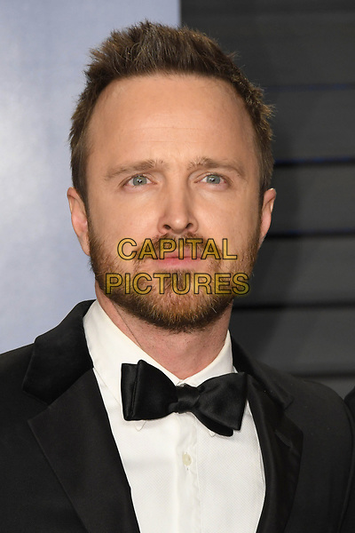 04 March 2018 - Los Angeles, California - Aaron Paul. 2018 Vanity Fair Oscar Party following the 90th Academy Awards held at the Wallis Annenberg Center for the Performing Arts. <br /> CAP/ADM/BT<br /> &copy;BT/ADM/Capital Pictures